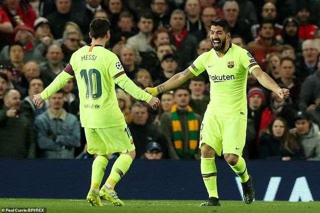 LIonel Messi vẫn sự là sự khác biệt lớn nhất của Man Utd và Barcelona