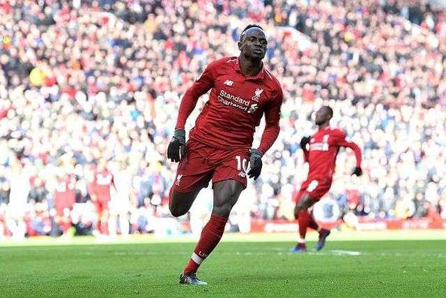 Mane đang có phong độ cao trong màu áo Liverpool