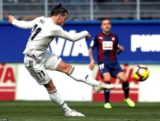 Bale chưa lấy lại được phong độ cao nhất dưới thời HLV Zidane
