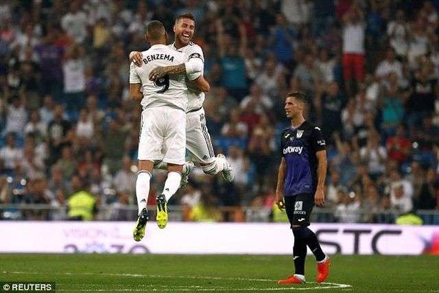 Real Madrid đã xuất sắc đánh bại Leganes 4-1 ở lượt đi
