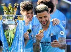 Man City bảo vệ thành công ngôi vô địch Premie League mùa giải 2018 - 2019