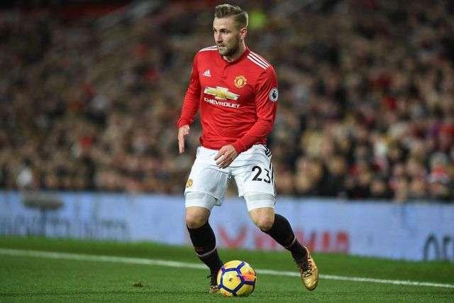 """Luke Shaw đã thi đấu 40 trận cho """"Quỷ đỏ"""", ghi được 1 bàn thắng và có 5 pha kiến tạo ở mùa giải 2018/19"""