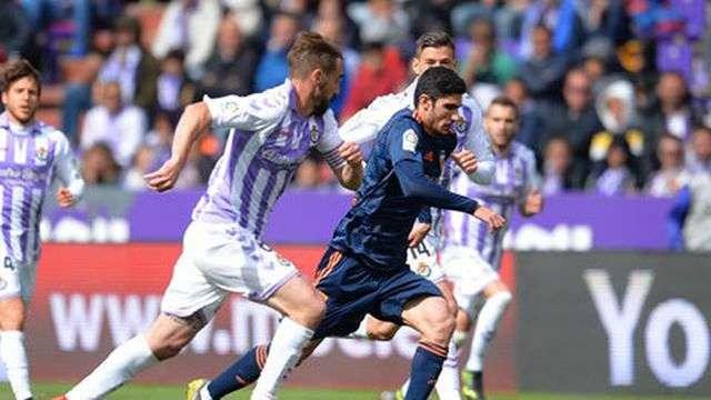 Valencia dễ dàng đánh bại Valladolid