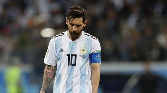 Messi thường xuyên gây thất vọng trong màu áo đội tuyển quốc gia