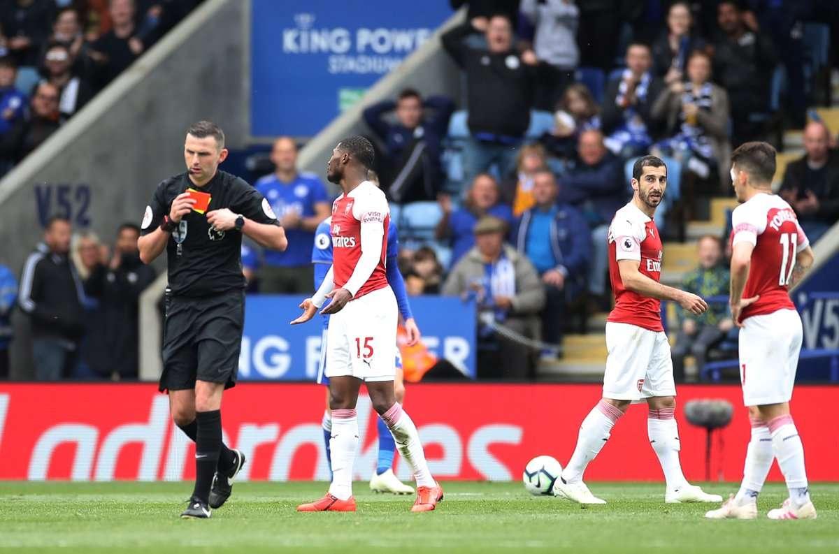 Arsenal đang ở trong tình cảnh khó khăn
