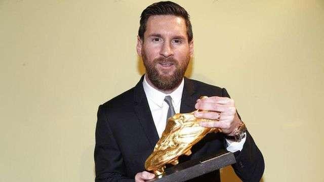 Messi lần thứ 6 giành danh hiệu Chiếc giày vàng Châu Âu trong sự nghiệp ở tuổi 31