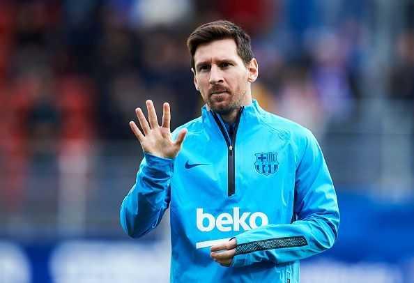 Messi lập kỷ lục ở giải Chiếc Giày Vàng châu Âu