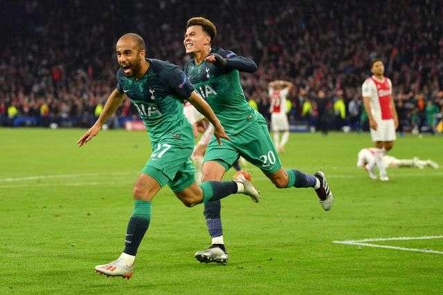 Moura lập hat-trick vào lưới Ajax giúp Tottenham dự chung kết Champions League