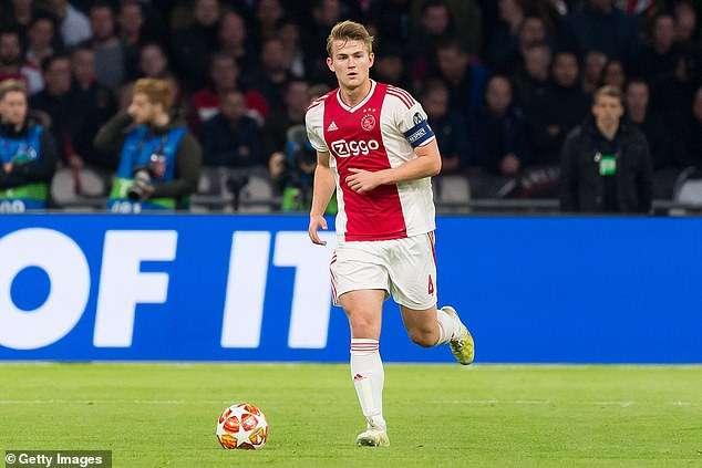 De Ligt đã xác nhận sẽ rời Ajax trong Hè 2019