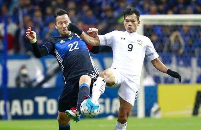 Thái Lan đã thua 8 trận, hòa 2 trận ở vòng loại cuối cùng World Cup 2018