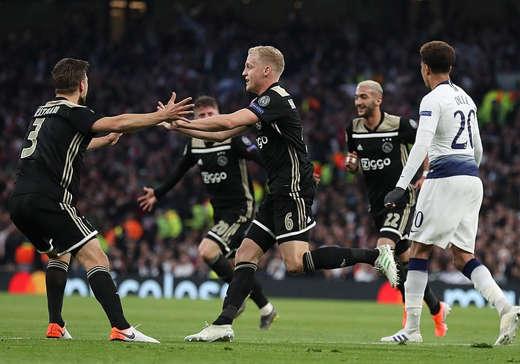 Ajax đang nắm ưu thế lớn với chiến thắng ở trận lượt đi
