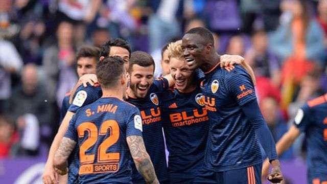 Valencia chính thức giành vé dự Champions League mùa tới