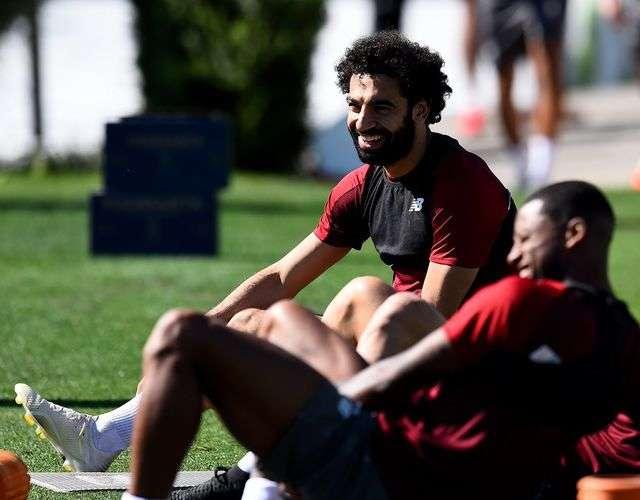 Salahvà các cầu thủ Liverpool đã tới Tây Ban Nha trước trận chung kết Champions League tới hơn 10 ngày