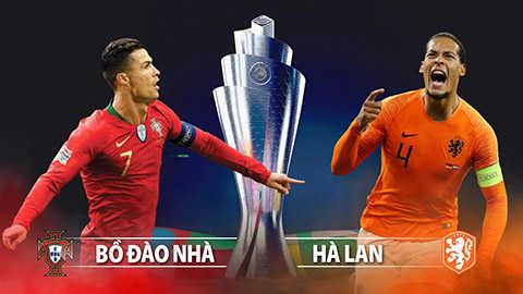 Bồ Đào Nha vs Hà Lan: Người tám lạng, kẻ nửa cân