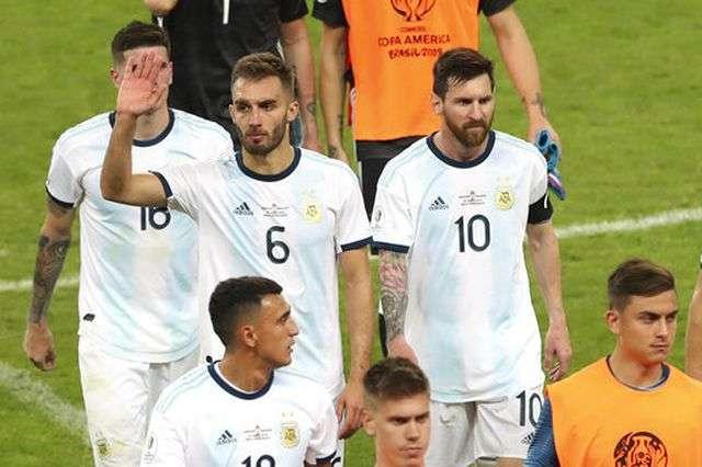 Argentina đứng cuối bảng B Copa America 2019 với 1 hòa và 1 thua