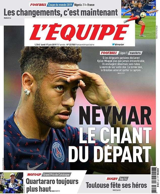 Neymar sẽ được phép ra đi với một điều kiện
