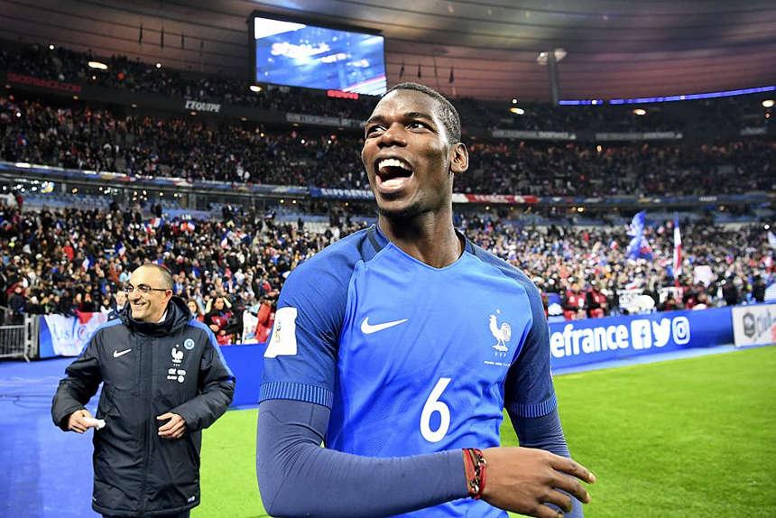 Pogba không thể chứng minh giá trị của mình ở M.U như khi khoác áo tuyển Pháp