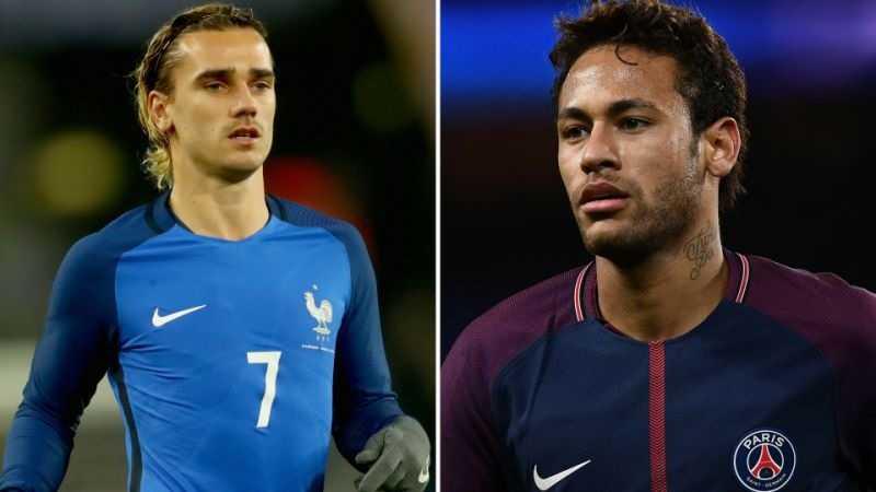 Nếu về Barca, Griezmann và Neymar sẽ chơi ở đâu?
