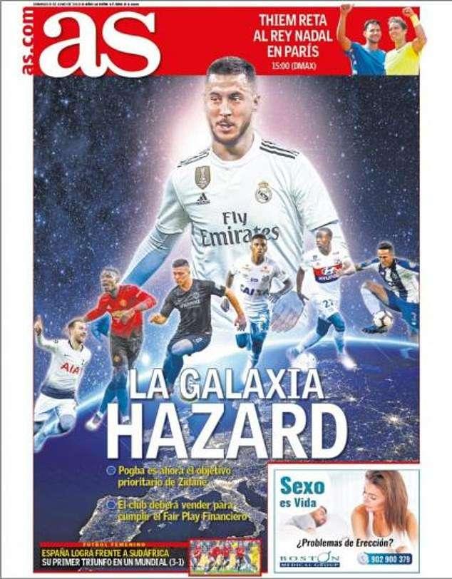 """Real sẽ xây dựng """"giải ngân hà"""" mới xoay quanh Hazard"""
