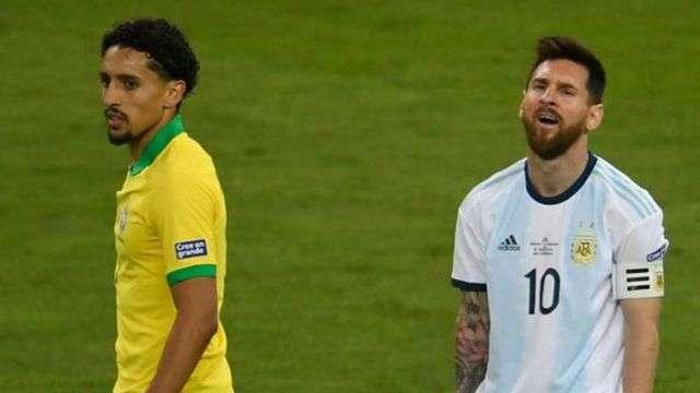 Marquinhos cho rằng Messi nên học cách chấp nhận, thay vì ca thán
