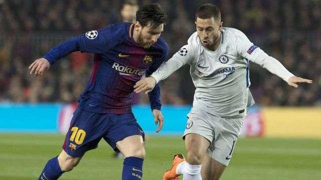 Giá trị của Eden Hazard ngang bằng với Messi