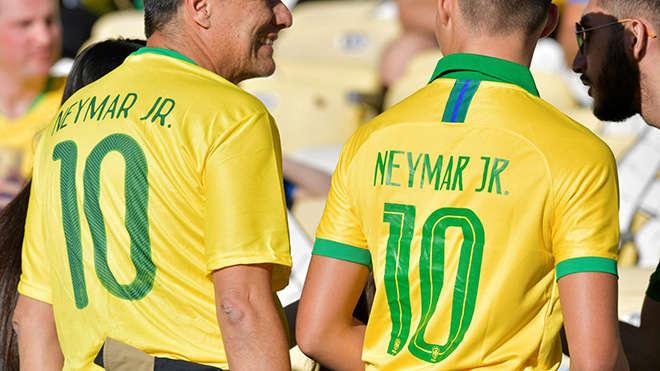 Brazil giờ không quá phụ thuộc vào Neymar, như Argentina phụ thuộc vào Messi