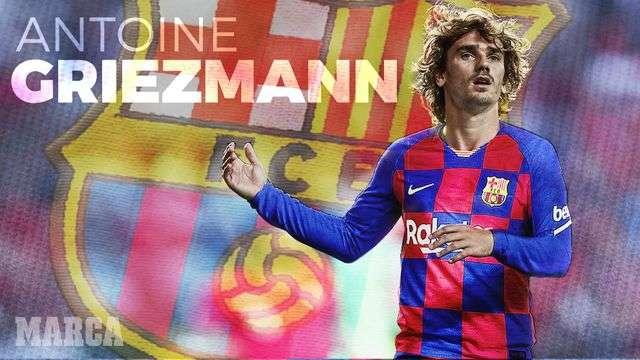 Griezmann chính thức là người của Barcelona