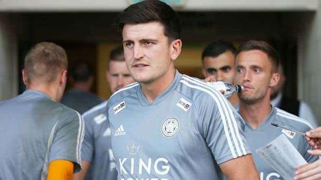 Maguire đang tham gia tập huấn mùa Hè cùng Leicester City