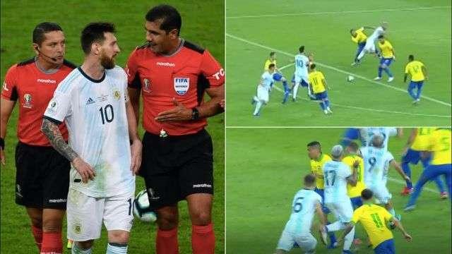 Hai tình huống mà Messi cho rằng Argentian xứng đáng hưởng phạt đền