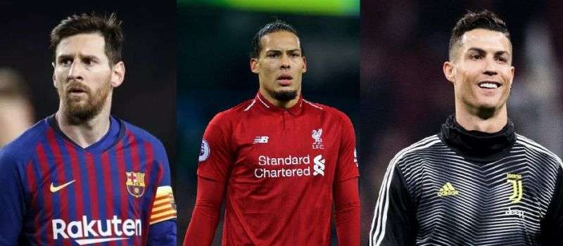 Messi, C.Ronaldo và Virgil van Dijk nằm trong danh sách rút gọn Cầu thủ xuất sắc nhất UEFA