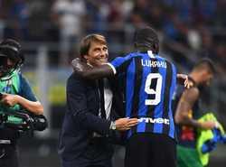 """Conte: """"Tôi sẽ không bất ngờ nếu như Lukaku trở thành tiền đạo đẳng cấp nhất thế giới"""""""