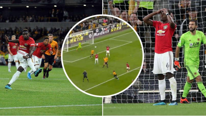Pogba đá hỏng quả 11m ở trận gặp Wolves