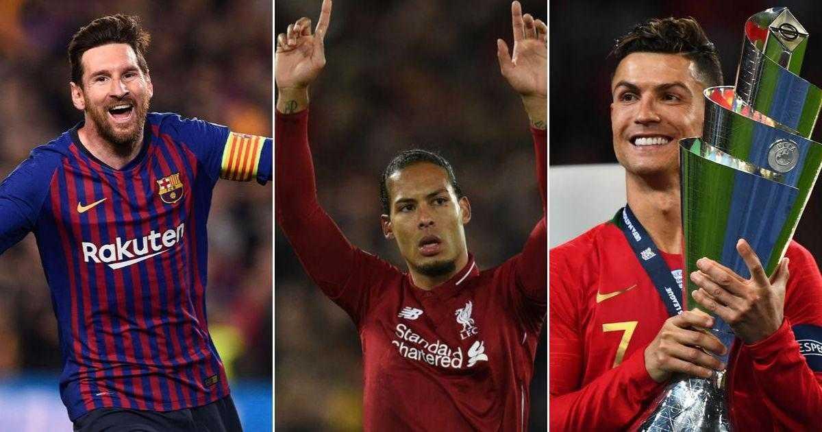 Virgil van Dijk, Messi và Ronaldo nằm trong danh sách rút gọn 3 đề cử cho giải Cầu thủ xuất sắc nhất châu Âu