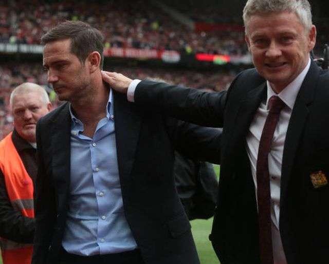Solskjaer đã giành chiến thắng trong cuộc đấu trí với Lampard