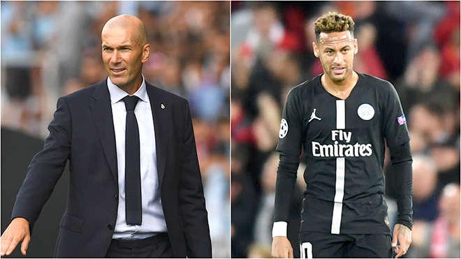 Liệu Neymar có thể đến được Bernabeu và giải thoát Zidane khỏi những rắc rối mà HLV người Pháp đang đối mặt?