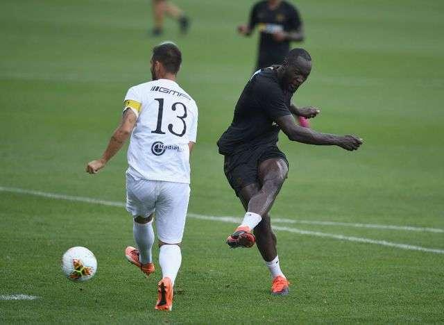 Lukaku gây ấn tượng trong trận ra mắt Inter