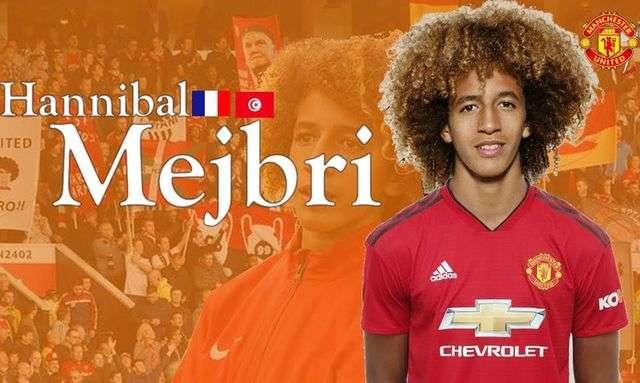 Hannibal Mejbri được xem là thần đồng của bóng đá Pháp