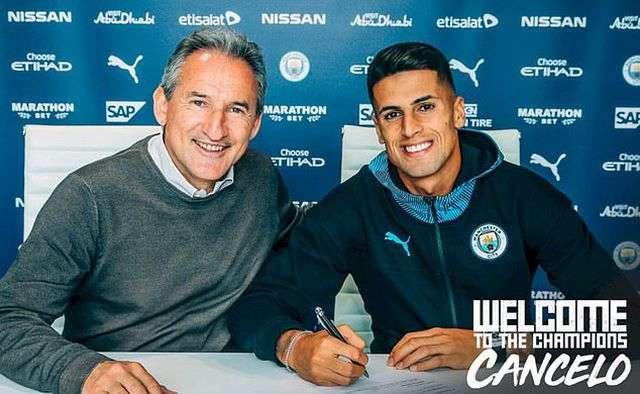 Man City chính thức ký hợp đồng với Joao Cancelo