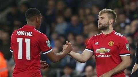 Luke Shaw và Martial dính chấn thương sau thất bại trước Crystal Palace