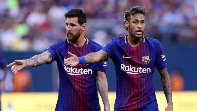 Messi muốn tái ngộ Neymar ở Barcelona