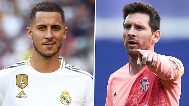 Hazard và Messi là những ngôi sao lớn nhất của La Liga mùa giải mới này