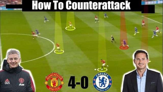 Chelsea không có phương án đánh chặn phản công của MU