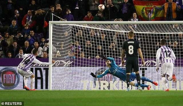 Valladolid quyết gây bất ngờ khi hành quân đến sân Bernabeu