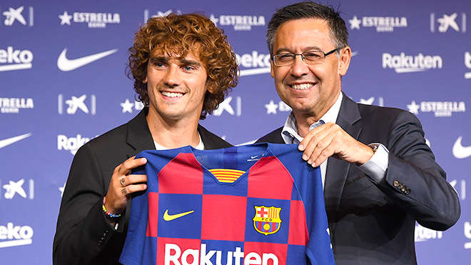 Thương vụ Griezmann có thể trở thành vụ scandal mới của Barca
