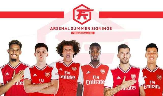 Những tân binh của Arsenal trong mùa giải này