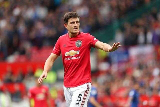Harry Maguire thi đấu thành công ở trận gặp Chelsea