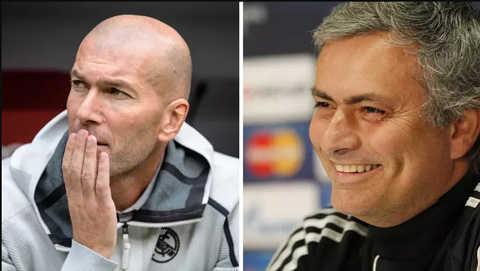 Mourinho hoàn toàn có thể thay Zidane dẫn dắt Real Madrid