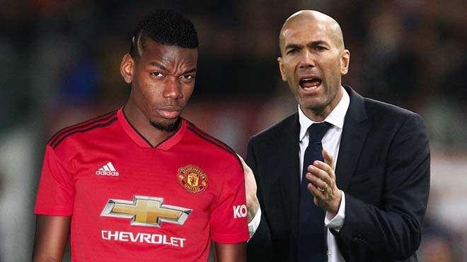 Zidane rất thích Pogba...