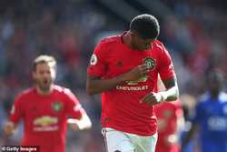 Man Utd 1-0 Leicester City: Chiến thắng nhọc nhằn