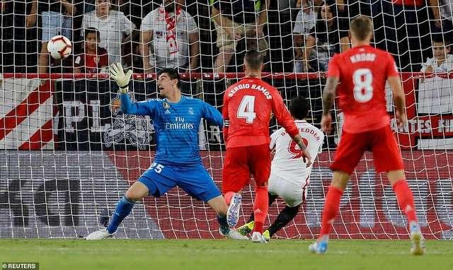 Sevilla đánh bại Real Madrid 3-0 tại Sanchez Pizjuan ở trận đấu gần đây nhất